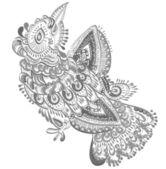 Bird of happiness — Stock Vector