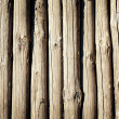 Weathered wooden logs - Stock Photo