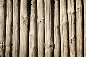 Weathered wooden logs — Stock Photo