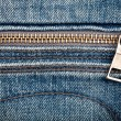 Royalty-Free Stock Photo: Closeup shot of jeans zipper