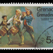 Grenadian post stamp — Stock Photo #8273083