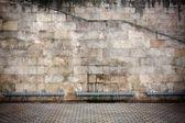 老年的墙背景 — 图库照片