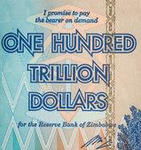 One Hundred Trillion Dollars — Stock Photo