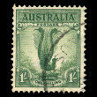 Australian post stamp — Stock Photo