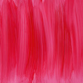 Red hand painted acrylic background — Stock Photo