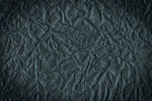 Black crumpled paper — Stock Photo