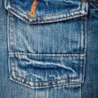 Royalty-Free Stock Photo: Blue jeans fabric with pocket