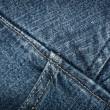 Jeans texture — Stock Photo #8383264