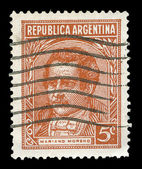 Argentina post stamp — Stockfoto