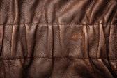 Ruffled leather background — Stock Photo