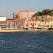 Old venetian port, Chania, Greece — Stock Photo