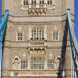 Tower bridge panorama, London, UK - Stock Photo