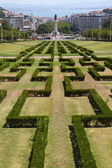 Parque Eduardo VII Lisbon, Portugal — Stock Photo