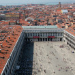 St Marks square, Venice, Italy as seen from bell tower — Stock Photo #8337701