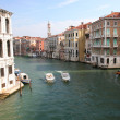 View from rialto bridge I — Stock Photo