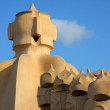 Chimney on Casa Mila (detail) — Stock Photo