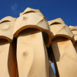 Stock Photo: Chimney on Casa Mila (detail)