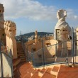 Chimney on Casa Mila — Stock Photo