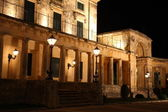 Old british government house, Corfu, Greece — Stock Photo