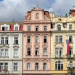Royalty-Free Stock Photo: Buildings in Wenceslas square, Prague