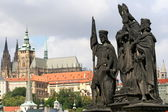 View from Charles Bridge — Stock Photo