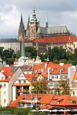 Prague Castle view — Stock Photo