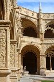 Monastery of the Hieronymites interior I, Belem, Lisbon — Stock Photo