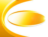 Gold abstract background with ellipse — Stock Photo