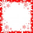 Stock Photo: Snow flakes background