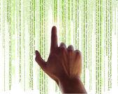 Digital information concept — Stock Photo