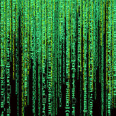 Digital green abstract background — Stock Photo