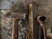 Carpenter's tools — Stock Photo