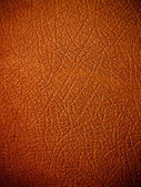 High quality brown leather — Stock Photo