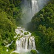 Marmore waterfalls in italy — Stock Photo