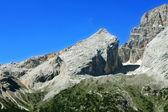 Alm v alpách dolomity — Stock fotografie