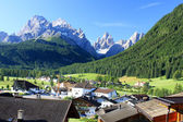 Village Sexten in the Dolomites — Stock Photo