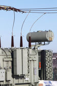Transformer isolator station — Stock Photo