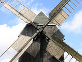 Old traditional windmill — Stock Photo