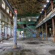 Old broken abandoned factory — Stock Photo