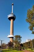 Weergave van euromast toren in rotterdam - nederland — Stockfoto