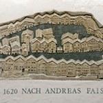 Wall sculpture of Kitzbuhel city map - Austria — Stock Photo #8365346