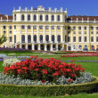 Schonbrunn palace and gardens at Vienna - Austria — Stock Photo #8365843