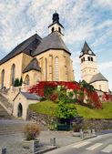 Parish church and Church of our Lady - Kitzbuhel Austria — Stock Photo