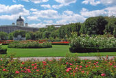 Gardens at Volksgarten, Vienna — Stock Photo