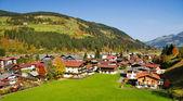 Houses at Kirchberg in tirol - Kitzbuhel Austria — Stock Photo