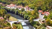 Bridge over Krka river at Knin - Croatia — Stock Photo
