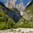 Dolomiti - Val Cimoliana - Mountain landscape - Stock Photo