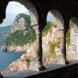 Arcades at St Peters Church - Porto venere - Liguria - Italy — Stock Photo #8423437