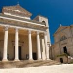Basilica of Repubblica di San Marino — Stock Photo