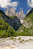 Dolomiti - Val Cimoliana - Mountain landscape — Stock Photo